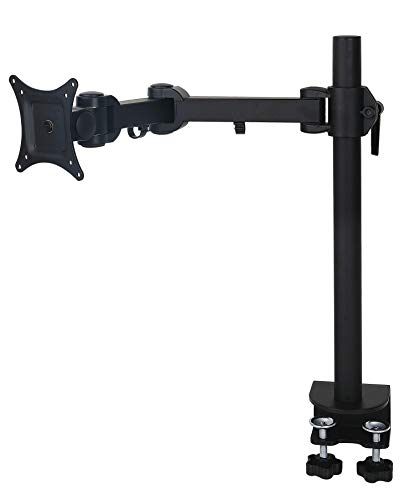 Tilt-swivel Stand (Allcam AM11S Single LCD Monitor Desk Mount Bracket for 15