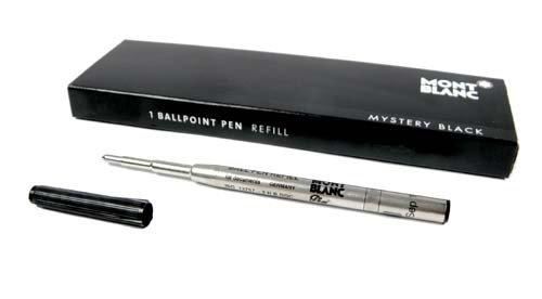 Preisvergleich Produktbild Montblanc Kugelschreiber Refill Mystery Black B (bold)