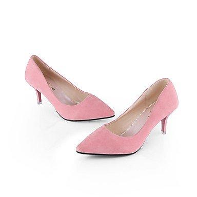 Tacchi Club Scarpe Donna Pelle di cinghiale festa di nozze e abito da sera tacco a spillo Nero Rosa Rosso Grigio Gray