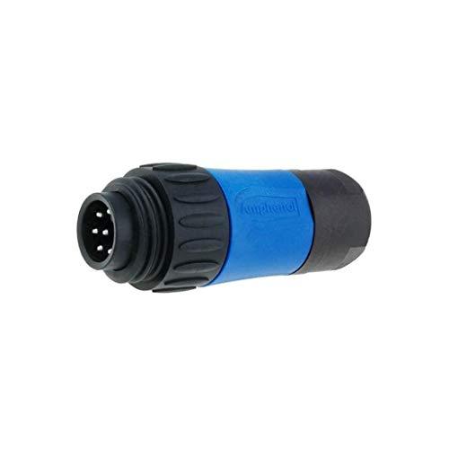 Male Threaded Plug (C16-1-3104-001N Connector circular plug male Series ECOMATE C016 PIN7)