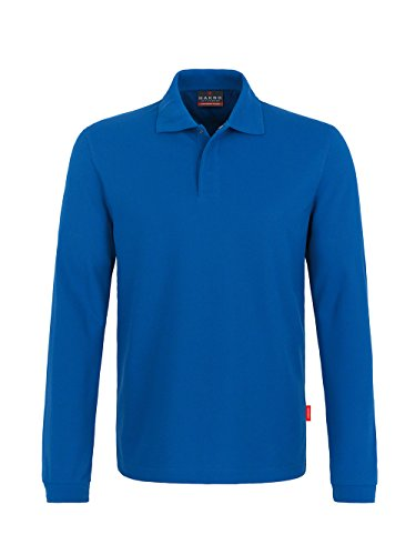 Longsleeve-Poloshirt HACCP-Performance Royal