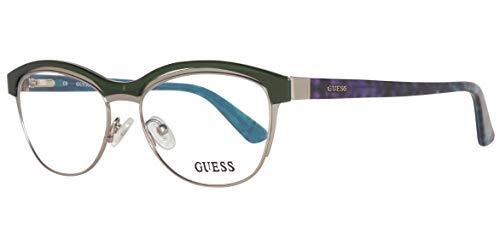 GUEX5 Brille GU2523 52098, Lunettes de Soleil Femme, Vert (Grün), 52 1f107e17a63b