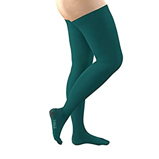 FITLEGS AES Thigh Length Anti-Embolism Stockings (Open Toe) - Medium (Pair)