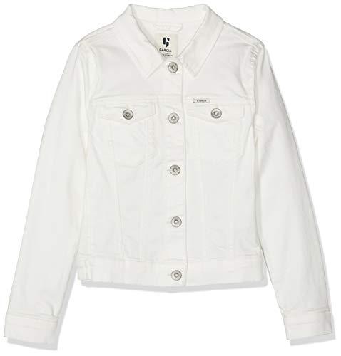 Garcia Kids Mädchen C92455 Jacke, Weiß (Off White 53), 164 (Herstellergröße: 164/170)