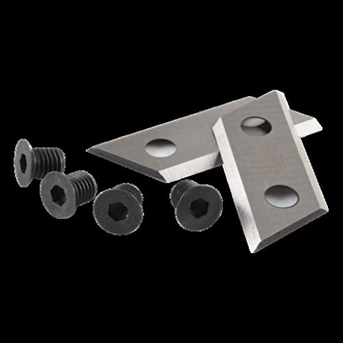 Ryobi Ersatzmesser-Set für Gartenhäcksler, Messer mit Schrauben, für Häcksler RSH2845T, einfache Montage – RAC351, schwarz