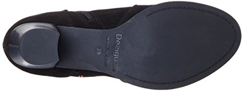 Desigual S CRIS 19 Damen Chelsea Boots Schwarz (2000 NEGRO)