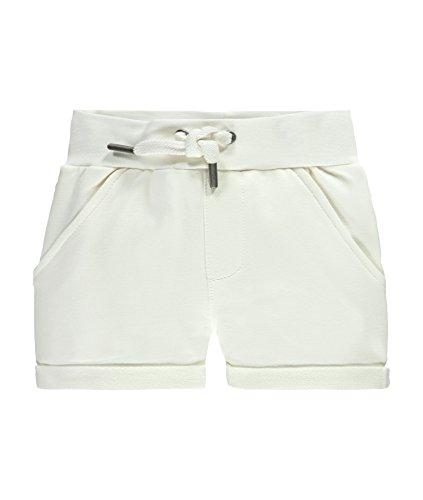 Steiff Baby-Mädchen Shorts, Weiß (Cloud Dancer 1610), 62