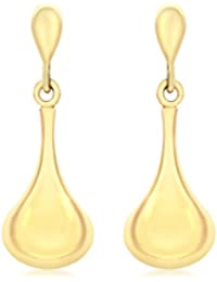Carissima Gold Pendientes de mujer con oro amarillo de 9 quilates (375/1000), 2 cm