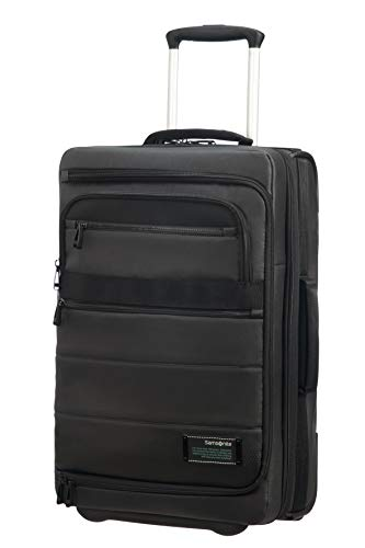 SAMSONITE Cityvibe 2.0 - Mobile Office Bagaglio a mano, 55 cm, 41.5 L, Nero (Jet Black)