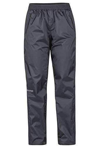 Marmot Damen Wm's PreCip Pant Hardshell Regenhose, Winddicht, Wasserdicht, Atmungsaktiv, Black, M