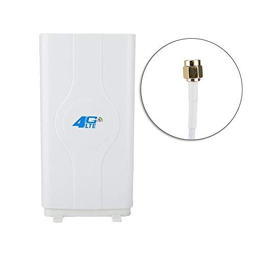 Mavis Laven 4G LTE Antena TS9 / CRC9 / SMA Antena 88DBi Alta Ganancia Mimo  Amplificador de Interiores Conector de 800 MHz a 2600 MHz para ZTE, Huawei,
