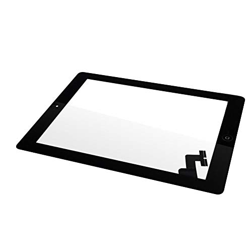 toff Touchscreen Digitizer Glass Lens Tools Kit für iPad 2 - Schwarz ()