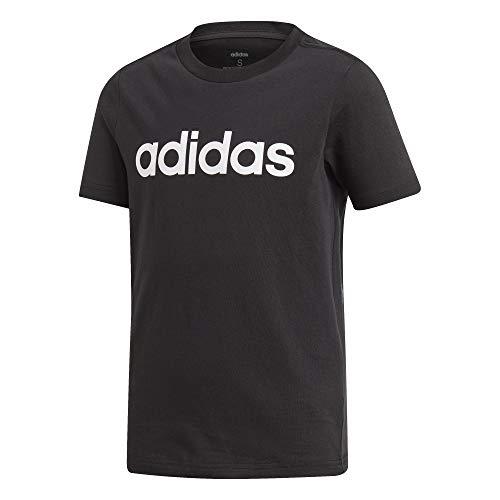 Adidas yb e lin tee, t-shirt bambino, black/white, 910a