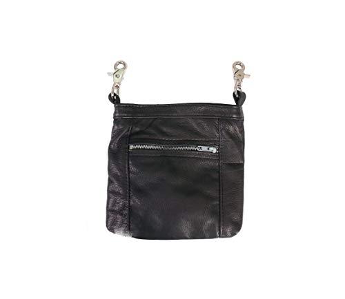 Offiziell lizenzierte Originals Tasche aus echtem Rindsleder, hergestellt in den USA, Damen, Three Pocket Design (8.5
