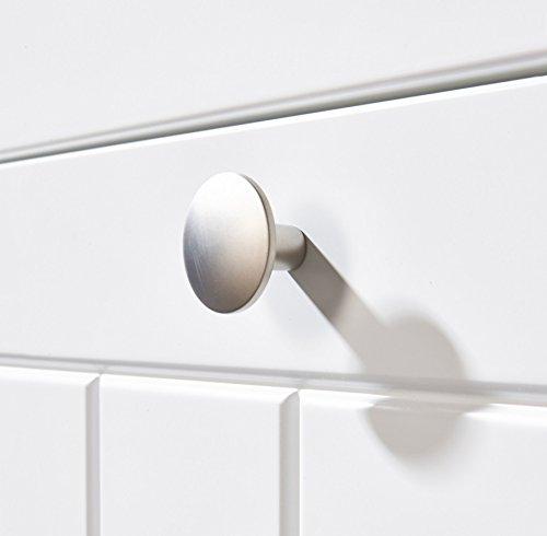 roba 58771 – Dream World 2 Wickelkommode inkl. Wickelansatz 104 x 75 cm mit 2 Türen, 1 breites Schubfach, 1 Boden - 2
