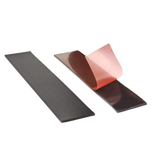 bruchfest Flexibel Klebeshop24 MAGNETBAND SELBSTKLEBEND schneidbar Magnetisches Klebeband 1 m auf Rolle Abmessungen w/ählbar Einseitig magnetisiert // 12,5 x 1,5 mm