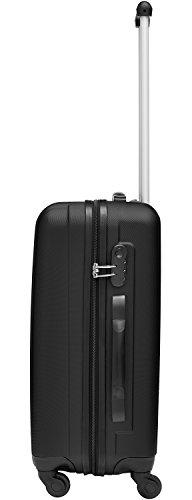 Packenger Line Koffer, Trolley, Hartschale  3er-Set in Schwarz, Größe M, L und XL - 6