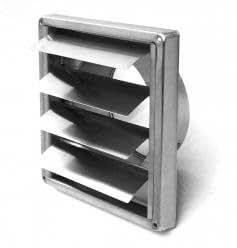 au enverschlussklappe edelstahl dn 150 mm l ftungsgitter abluftgitter abluft baumarkt. Black Bedroom Furniture Sets. Home Design Ideas