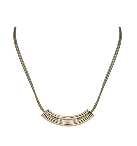 sempre-london-18ct-gold-plated-stella-designer-two-strand-leather-cord-necklace-for-women