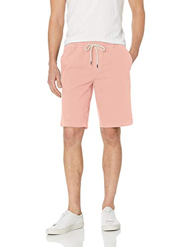 Baumwoll-pull-on Shorts (Goodthreads 11 Inch Inseam Pull-On Stretch Canvas shorts, Light Pink, US (EU XL-XXL))