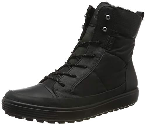 ECCO Damen Soft 7 TRED W Hohe Sneaker, Schwarz (Black/Black/Black 51094), 41 EU