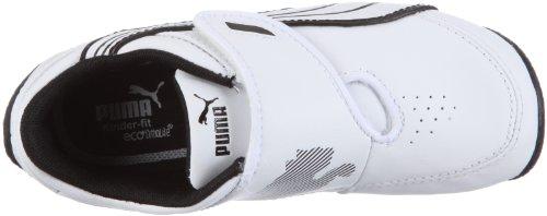Puma Kds Dr C Iii Nc V, Baskets lifestyle mixte bébé Blanc Cassé - bianco (Weiss/White-White-Black)