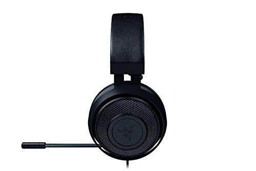 Razer Kraken Pro V2 - Cuffie da Gioco Analogiche Over-Ear - Gaming Headset per PC e PS4, Driver audio da 50mm e Struttura unica in alluminio per maggiore durata (Nero)