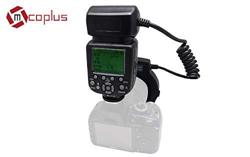 Mcoplus 14extn Flash Anulare Macro per Nikon nero