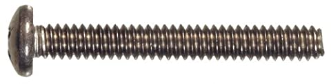 The Hillman Group 828472 Stainless Steel Pan Head Phillips Machine Screw, 8-32-Inch x 3/8-Inch, 100-Pack by The Hillman