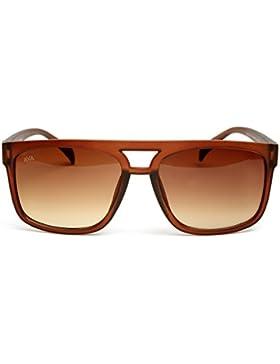 AVA ® Occhiali da Sole - Modello Vintage - Lenti UV400 (UVA UVB) - Limited Edition