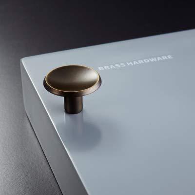 ZTZT Griffe und Griffe für Schranktüren aus Messing, goldfarben, für Kleiderschrank, 33 mm