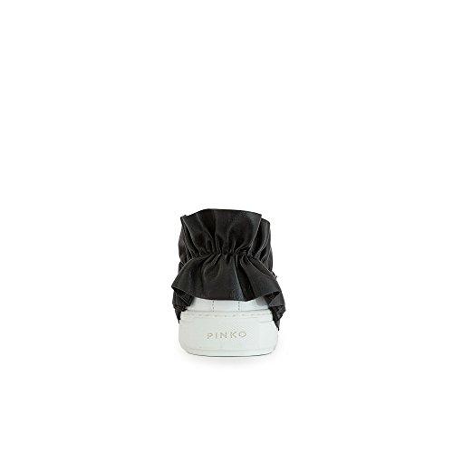 Pinko Sneakers Femme Anacardio Y4f8pizz1 Blanc Eh102anacardio-y4f8pizz1 Blanc Noir