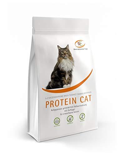 Das Gesunde Tier: Protein CAT kaltgepresstes Katzenfutter, Getreide- und glutenfrei, mit Geflügel, 10 kg (10 x 1 kg)