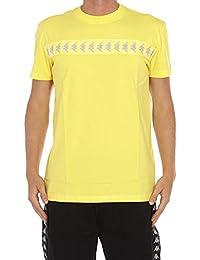 KAPPA KONTROLL Hombre 304IQG0E19 Amarillo Algodon T-Shirt