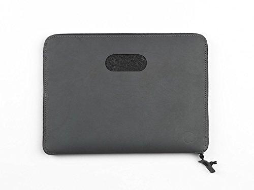 Laptoptasche Torro 13' von Lind DNA 35x26cm, Farbe:Nupo anthrazit/anthrazit Nupo anthrazit/anthrazit
