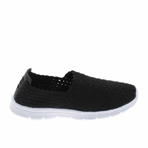 BASS3D Slip On, colore: nero, Nero (nero), 37