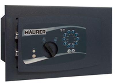 CASSAFORTE A MURO ELETTROMAGNETICA MAURER 40X25X24 cm telaio acciaio monoblocco