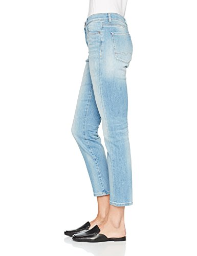 BOSS Casual, Jeans Straight Donna Blu (Bright Blue 434)