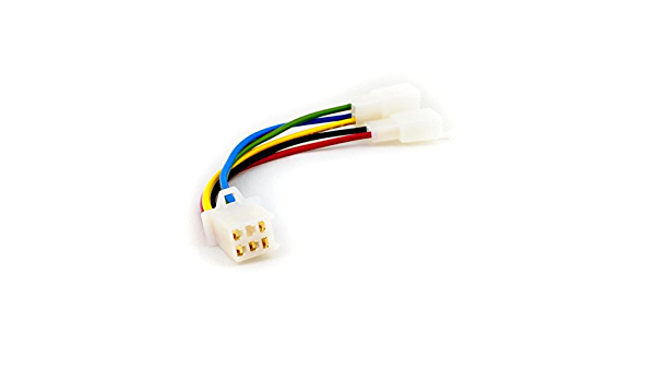 Plug Play Cg 5 Pin Cdi Adapter Cable Converter Motorbike Scooter Atv Auto