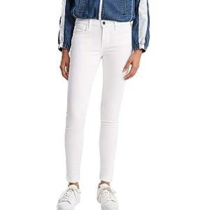 Pantalon Levis 710 Innovation Skinny Blanco Mujer 3130 Blanco
