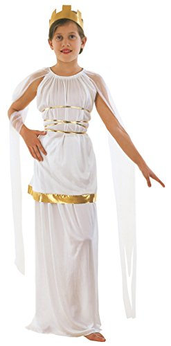 Child Fancy Dress Grecian Costume Large (146 - 158 cm) Age 11 - 13 (Athena Göttin Kostüm Zubehör)
