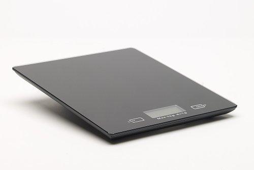 Home Zone DKS 10-Elegante Moderna Bilancia da cucina digitale in un design moderno-con finitura nera
