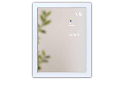 MySmartMirror - Espejo inteligente que muestra información personalizada, el calendario de Google, las noticias, el tiempo, el tráfico, los trenes y el metro, tamaño mediano