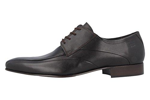 FRETZ men , Chaussures de ville à lacets pour homme Beige Espresso Expresso