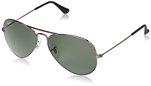 Ray-Ban Aviator Sunglasses (Natural Green) (RB3025|004|58)