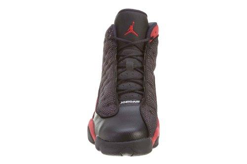 Nike Air Jordan 13 Retro Bg, Chaussures de Sport Garçon black/varsity red-white
