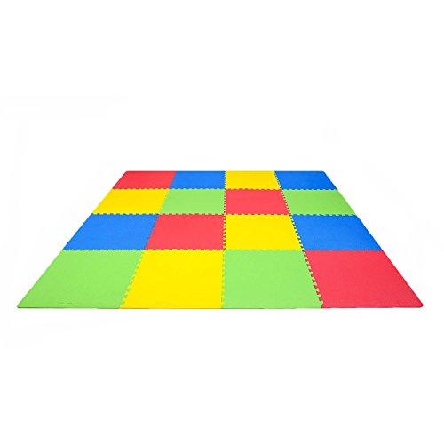 Core Balance 4 Verriegelung EVA Soft Foam Play Matts Kinderzimmer Spielzimmer 120 x 120 x 1cm (Erstellen Balance)
