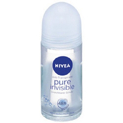 Nivea Deoroller Pure Invisible Roll-on, 6er Pack 6 x 50 ml