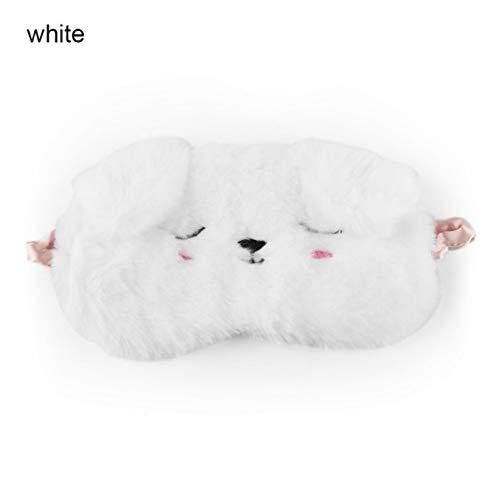 Eye Mask Sleep & Snoring Eyemask Sleep Eyeshade Black White Cat Kitten Home Travel Goggles Shading Sleep Nap B
