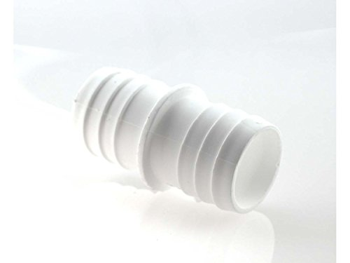 Double tube PP blanc tuelle d = 38 mm